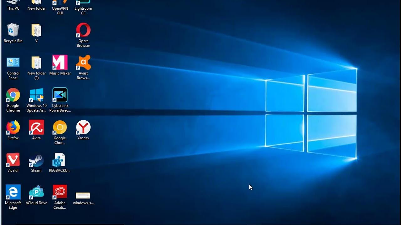 Uninstall Yandex Browser in Windows 10 October 2018 Update