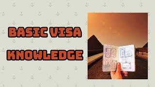 WHAT IS VISA? BASIC VISA KNOWLEDGE  AND TYPES OF VISA