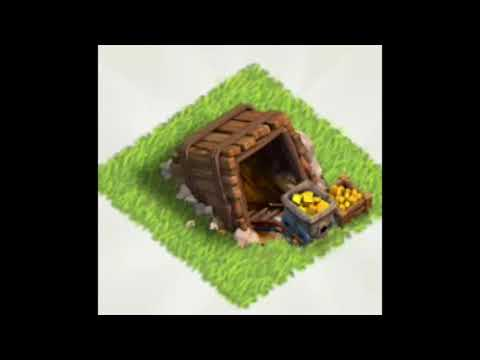 Clash Of Clans: All Gold Mine Levels