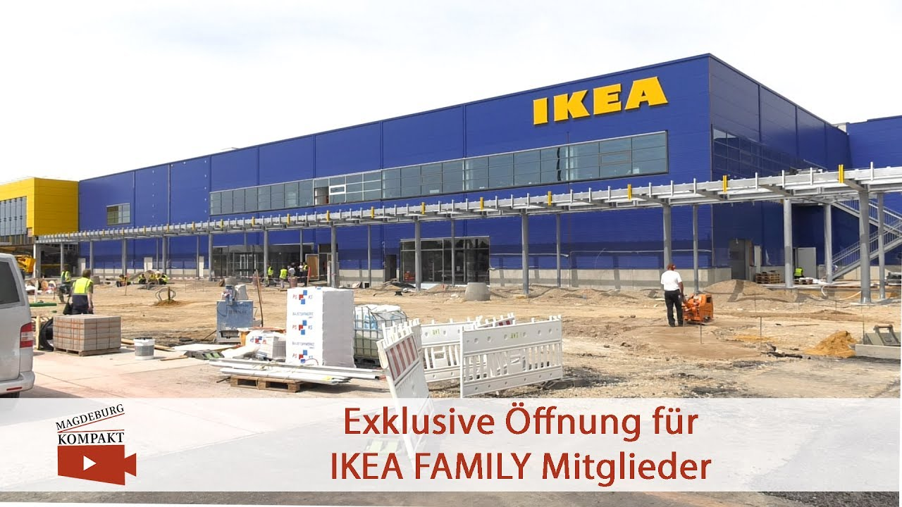 ikea er ffnung in magdeburg youtube