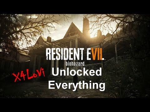 Resident evil 7 -  Unlock everything