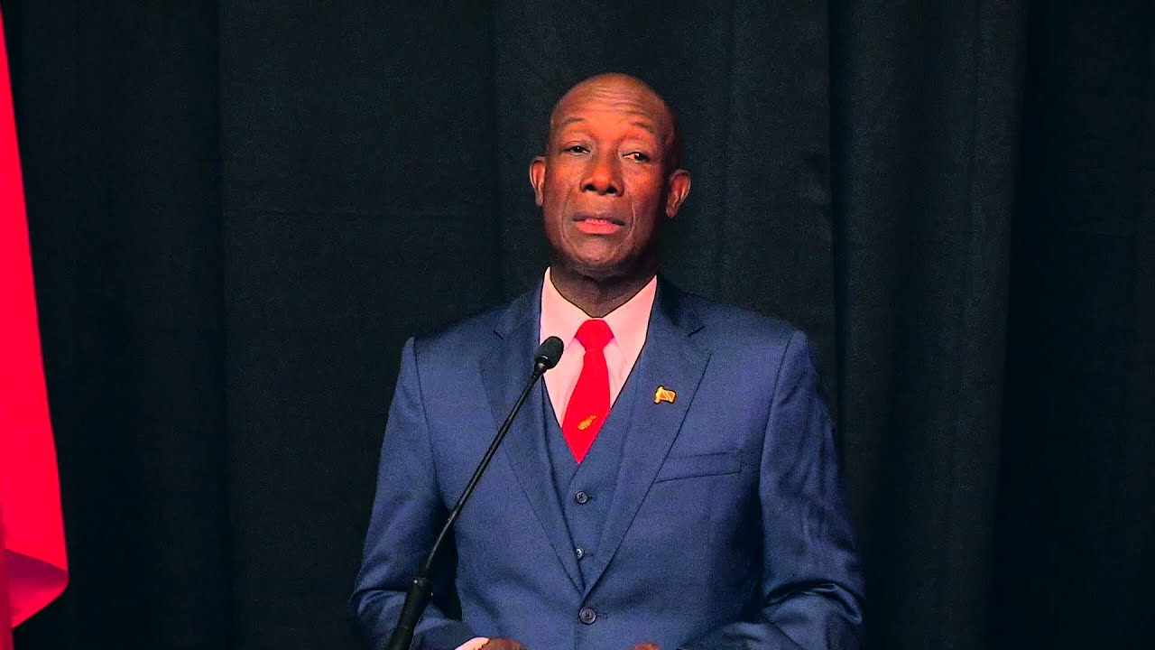 PM Keith Rowley receives Trinidad Express Newspapers ...