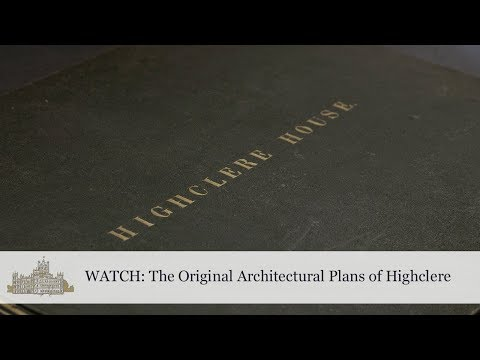 The Original Architectural Plans of Highclere House