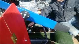 Винтомоторная установка для лодки