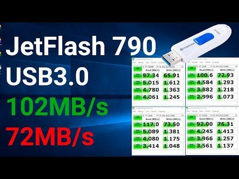 Как правильно выбрать USB флешку Transcend JetFlash 790 USB 3.1 128GB 💾