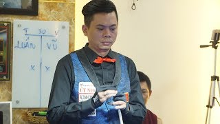 DƯƠNG ANH VŨ - BÙI TOÀN. Giải Billiards Carom 3 Băng Quảng Ngãi. Tranh Cup Lions