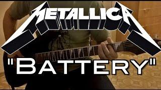 "Metallica - ""Battery"" (Guitar cover)"