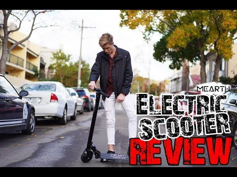 Mearth Electric Scooter Review, Australia Brand Electric Scooter OZ Tech
