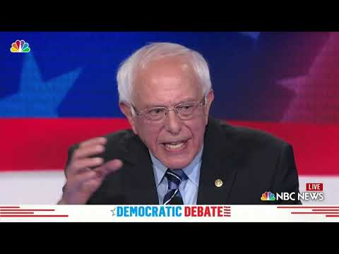 Everything Bernie Sanders Said During Night 2 the Democratic Debate | NBC New York