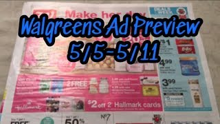 Walgreens 5/5-5/11 Ad Preview Body wash, Pantene, Oral Care