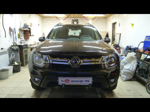 Установка парктроников Renault Duster Dakar 2018 г.