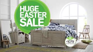 Snooze Easter Sale - Offer Valid 17 March - 27 April 2014