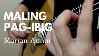 Gambar cover Maling Pag ibig - Marian Aunor | Classical Guitar Cover | Tablature