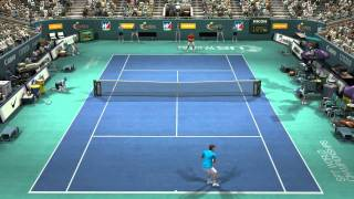 Virtua Tennis 4  PC Gameplay HD Nadal vs Federer