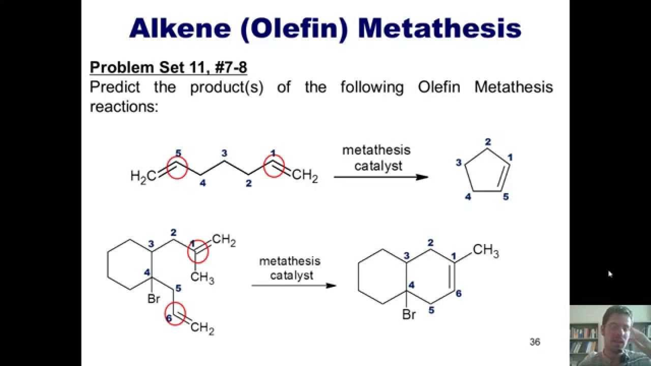 what is olefin metathesis Reactivity in chemistry reactions under orbital control oc10 olefin metathesis olefin metathesis, or alkene metathesis, is an important process in petroleum.