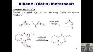 Chapter 11 – Organometallics, Part 5 of 5: Olefin Metathesis