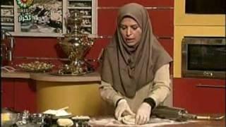 طرز تهیه خمیر هزار لا و شیرینی زبان Shrrani Zaban قسمت دوم