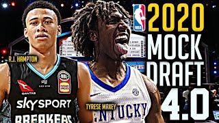 2020 NBA Mock Draft 4.0: Tyrese Maxey | R.J. Hampton [15-30]