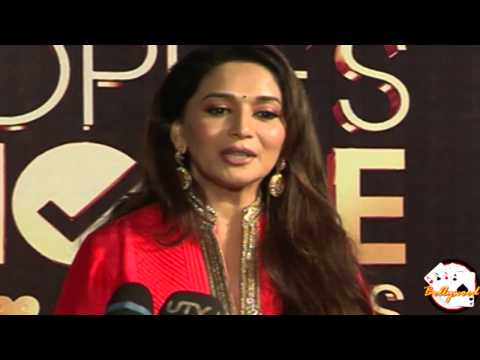 Madhuri Dixit at People's Choice Awards On Red Carpet