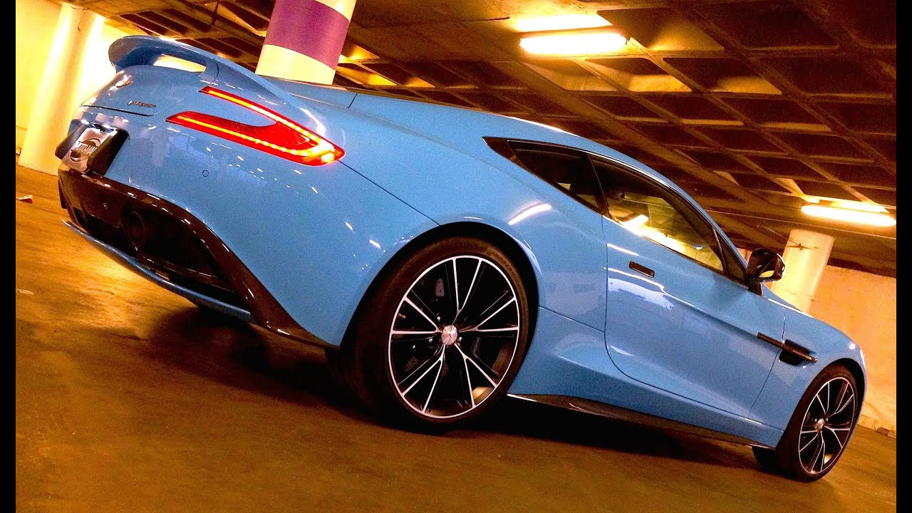 2014 Aston Martin Vanquish: The Curious Case of Flugplatz ...Aston Martin Vanquish Blue