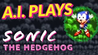 AI Plays Sonic (and Exploits Level Design)