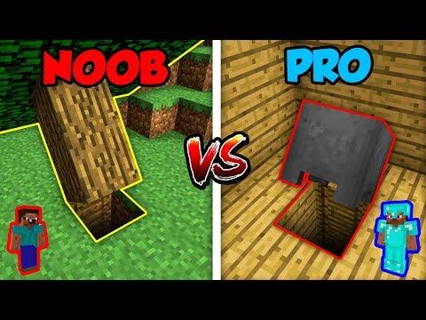Minecraft NOOB vs. PRO: BASE ENTRANCE! | AVM Shorts Animation