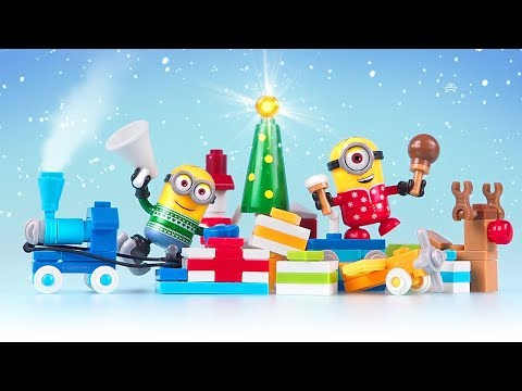 Minions Holiday Advent Calendar 2017 by Mega Construx Despicable Me • Unboxing & Stop Motion