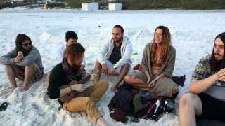 Beach band jam watercolor Florida