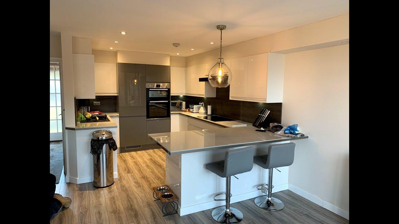 Garage Conversion Converting A Garage Into A Kitchen Kitchen Design Kitchen Installation Youtube