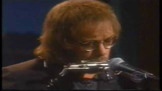 Warren Zevon - I Was In The House When The House Burned Down - Graig Kilborn Show, 2000 (HD)