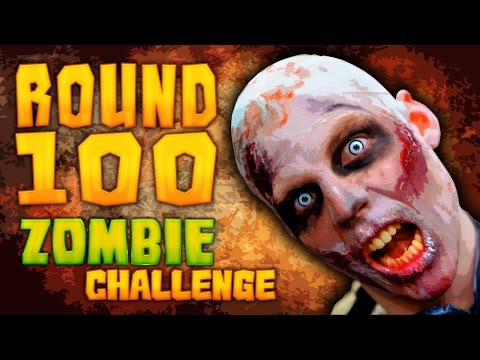 ROUND 100 ZOMBIE CHALLENGE ★ Call of Duty Zombies