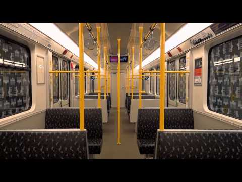 U-Bahn Berlin: Mitfahrt Typ F76E Wittenau - Residenzstraße (U8) [1080p HD]