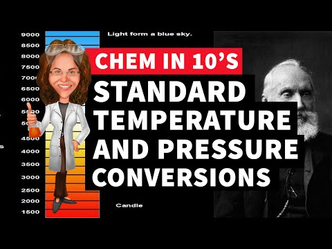 Standard Temperature and Pressure Conversions