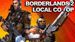 Borderlands 2 Multiplayer Gameplay - Local Co-Op Mode Commentary