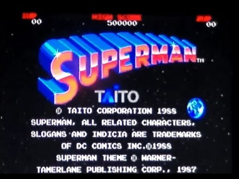 Superman The Arcade Game On MAME