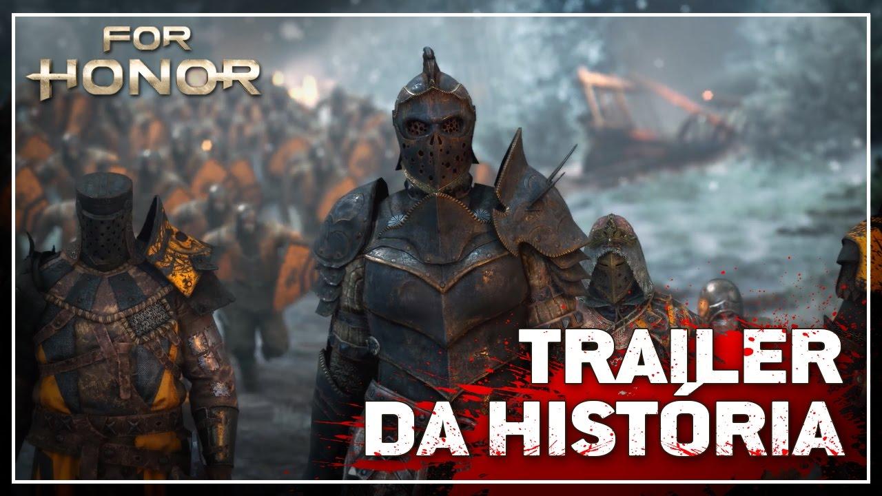 For Honor - Trailer da História (DUBLADO)