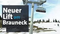 Schrödelsteinbahn: Neuer Sechser-Sessel-Lift am Brauneck in Betrieb | BR24