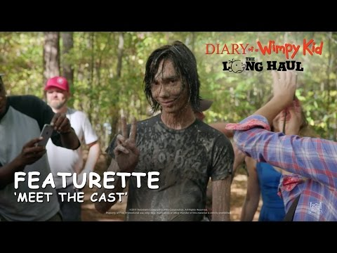 Diary Of A Wimpy Kid: The Long Haul ['Meet The Cast' Featurette In HD (1080p)]