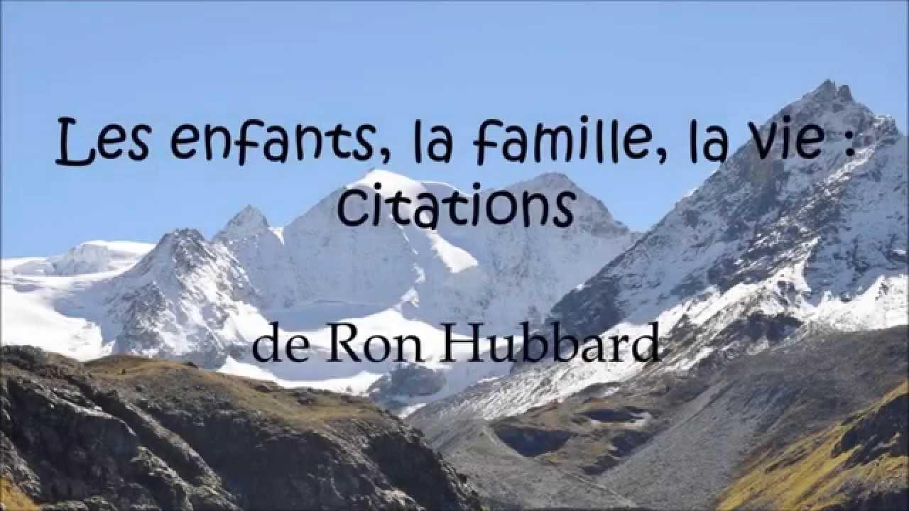Préférence Les enfants, la famille, la vie : citations - YouTube LK04