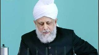 Sindhi Friday Sermon 8 Oct 2010, Prayer is our weapon and the means of our triumph