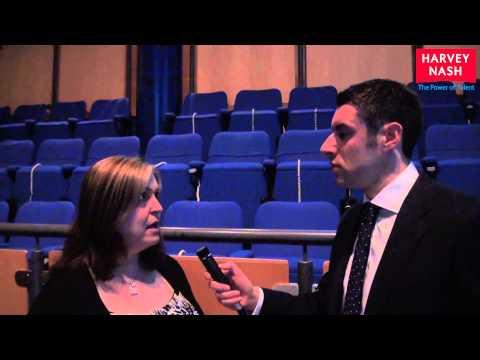 Catherine Rush, Head of Talent, DMG Media -- Harvey Nash CIO Survey 2013 Event Birmingham