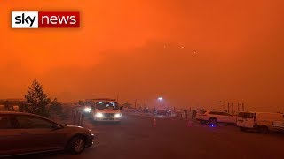 Australia bushfires: Thousands evacuated from Mallacoota