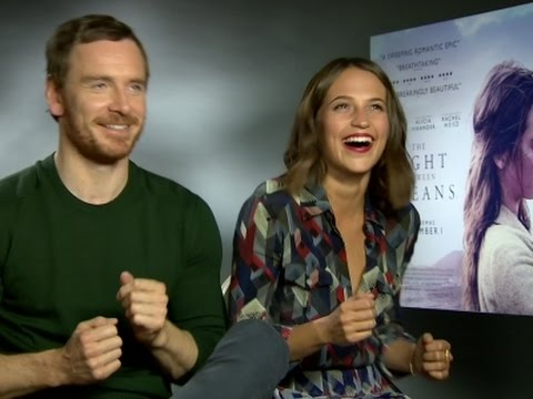 On the dancefloor with Michael Fassbender