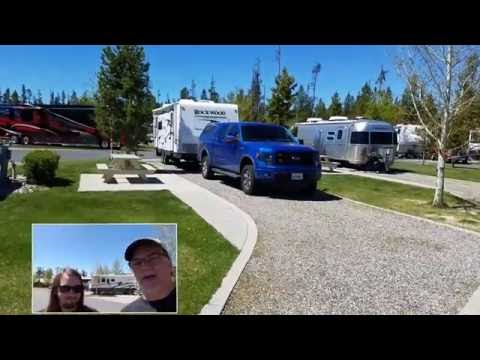 Checking-out Grizzly Yellowstone RV Resort