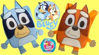 BLUEY & BINGO Back to School Backpack Surprises with 5 Mini Brands