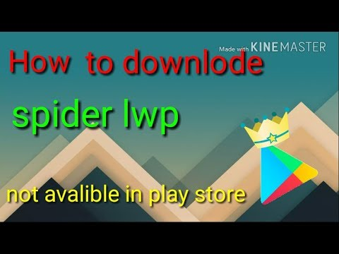 [Hindi] How To Download Spider Man Live Wallpaper.