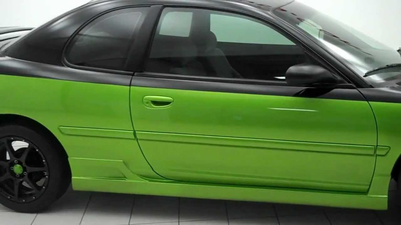 99 custom dodge neon viper snakeskin green youtube. Black Bedroom Furniture Sets. Home Design Ideas