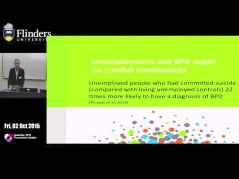 Prof Andrew Chanen: New Directions in Borderline Personality Disorder