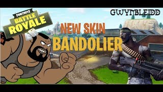 "Fortnite - ""Bandolier"" skin highlights! - Gwynbleidd"