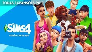 The Sims 4 TODAS EXPANSÕES Atualizado 1.56.52.1020 - Sem Erros??
